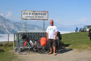 Col d'Aubisque dans les Pyrénées