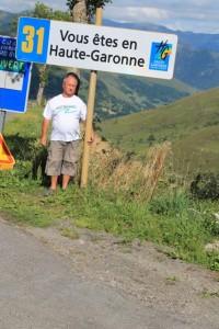 Col de Peyresoude dans le département de la Haute Garonne