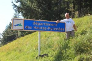 Département des Hautes Pyrénées au col de Peyresoude