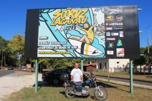 Epreuve du championnat de surf en Gironde