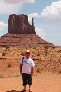 Monument Valley site naturel en Arizona, site de tournage des plus grands westerns (1)