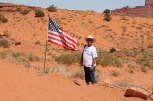 Monument Valley site naturel en Arizona, site de tournage des plus grands westerns (2)