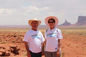 Monument Valley site naturel en Arizona, site de tournage des plus grands westerns (3)