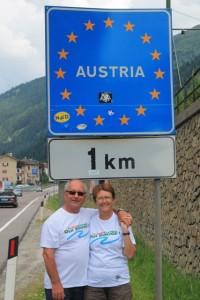 Zech à la frontière Allemagne-Autriche