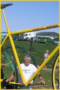 Col du Tourmalet (Hautes Pyrénées) Vélo du maillot jaune