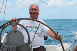 Fleury garde le cap - Direction l'île de Sainte Lucie dans les Caraïbes