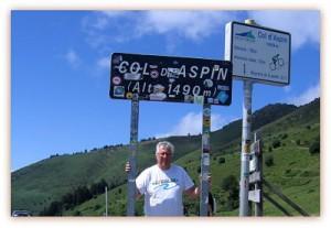 Sommet du Col d'Aspin (Hautes Pyrénées)