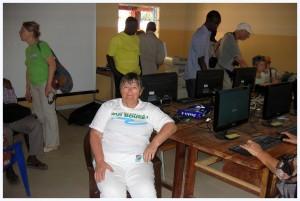 Salle informatique de Ouonck (Sénégal)