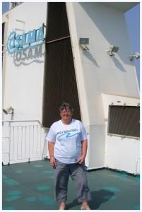 Sur le bateau Aline Sitoe Diatta Liaison Dakar-Zinguinchor (Sénagal)