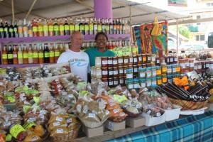 Marché de Ste Anne en Martinique