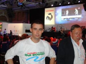 Club France aux Jeux Olympiques de Londres en 2012