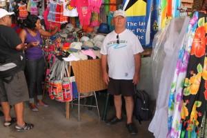 Marché de Castries capitale de l'île - Direction l'île de Sainte Lucie dans les Caraïbes