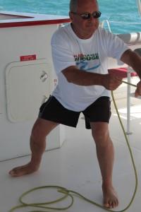 On hisse les voiles - Direction l'île de Sainte Lucie dans les Caraïbes