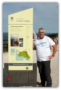 Site du Carrick-a-Rede en Irlande du Nord